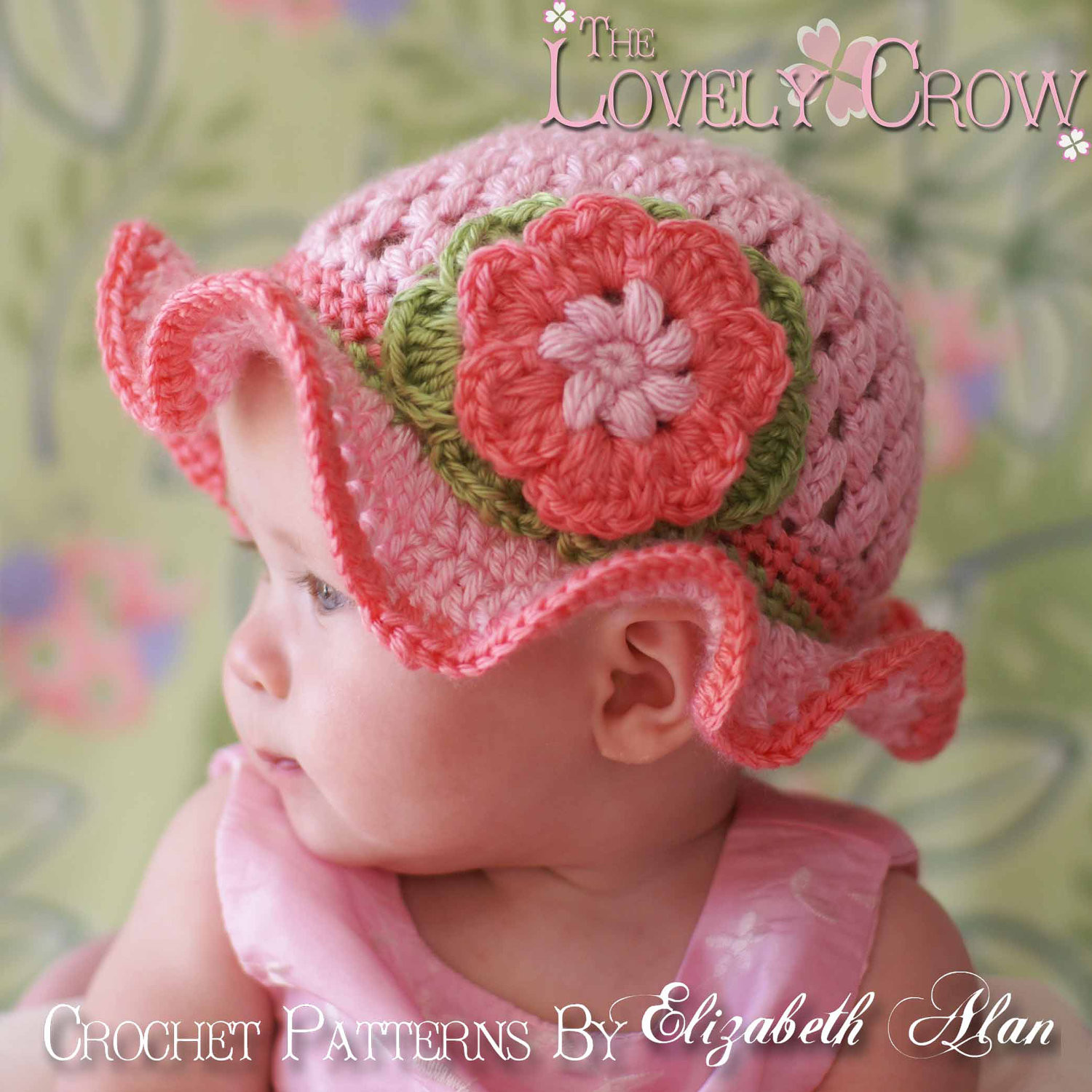 crochet baby girl hats free patterns