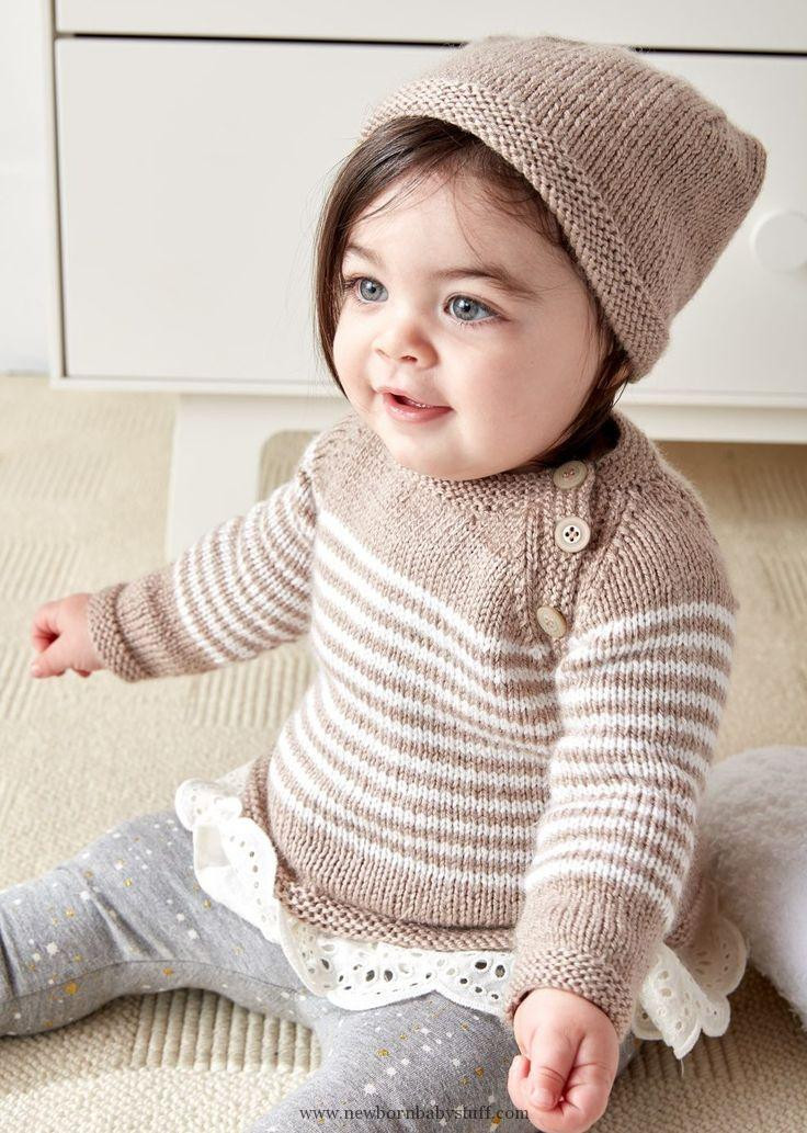 baby knitting patterns free knitting pattern for easy wee stripes baby sweater and 2