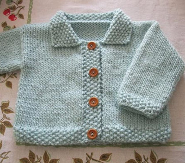 free babies knitting patterns for cardigans Crochet and Knit