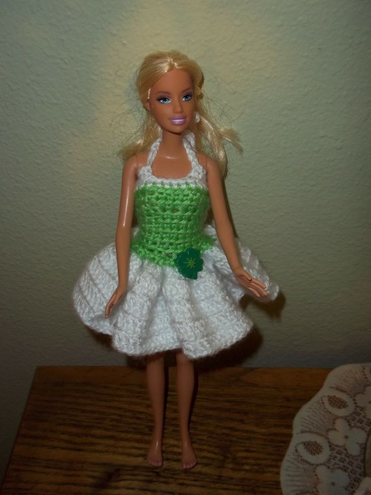 Free Barbie Crochet Patterns Fresh 17 Best Images About Crochet Knit Doll Clothes and Of Awesome 43 Pics Free Barbie Crochet Patterns