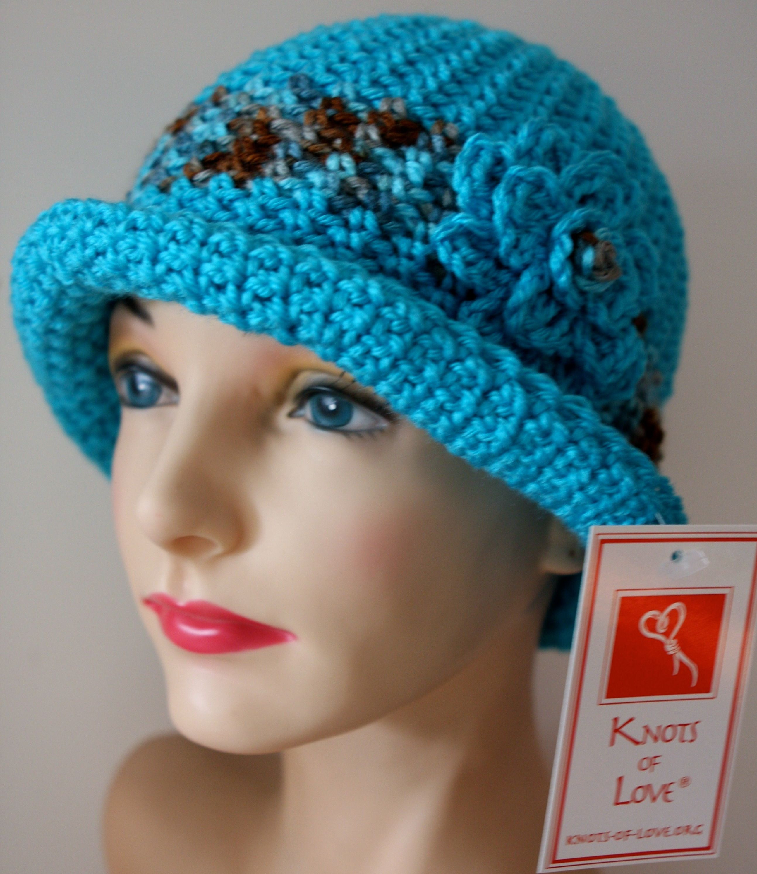 Knots of Love Volunteers who knit or crochet hats for