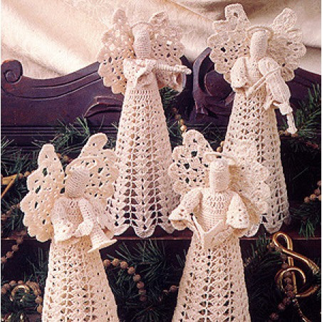 Free Crochet Angel Patterns Awesome Angels In Harmony Thread Crochet Epattern Of Innovative 44 Pictures Free Crochet Angel Patterns