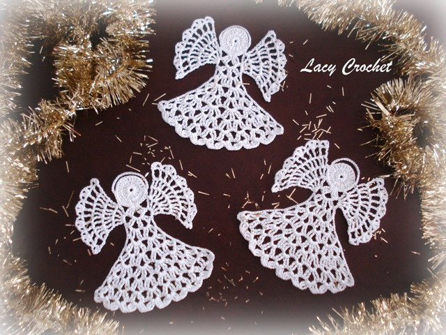 Free Crochet Angel Patterns Luxury Lacy Crochet Crochet Angels Of Innovative 44 Pictures Free Crochet Angel Patterns