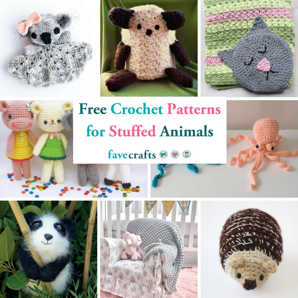 Free Crochet Animal Patterns Awesome 46 Free Crochet Patterns for Stuffed Animals and Loveys Of Attractive 49 Pictures Free Crochet Animal Patterns