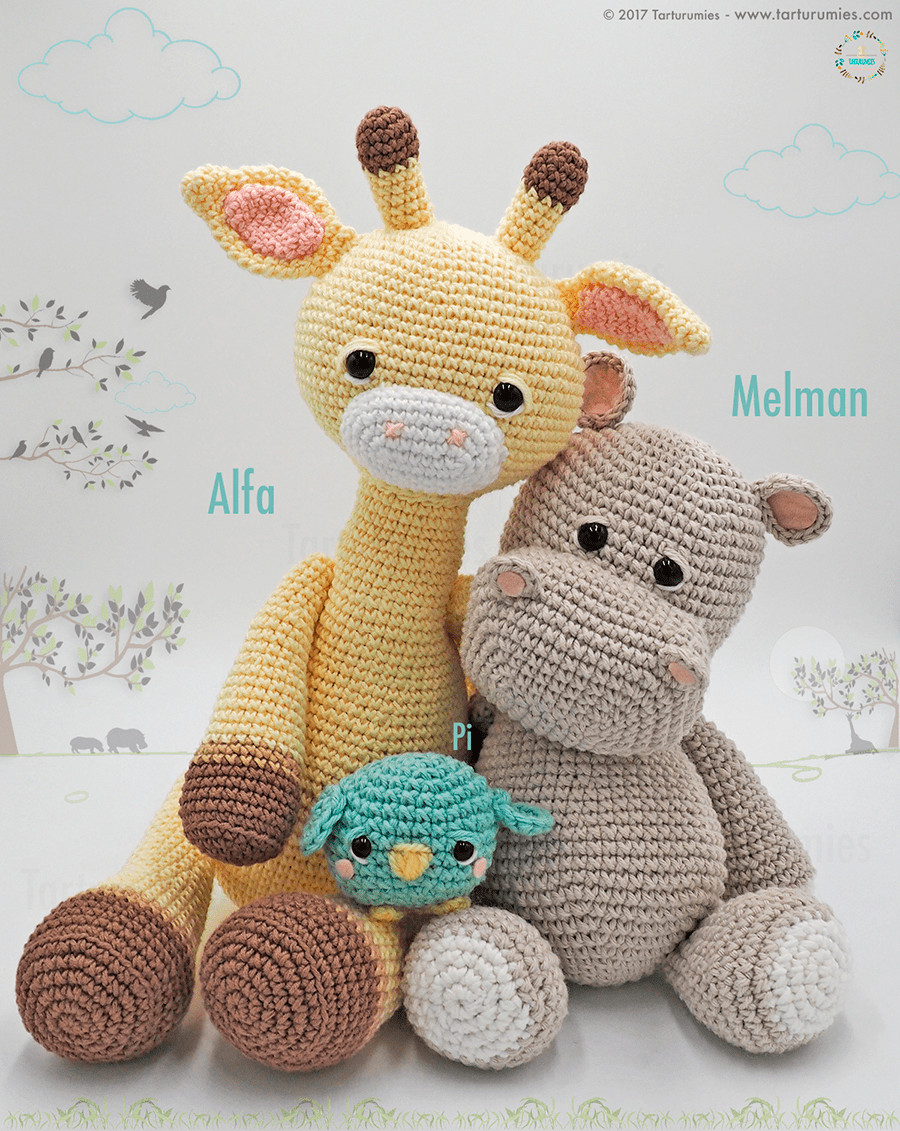 Free Crochet Animal Patterns Beautiful Amigurumi Pattern Alfa Giraffe – Tarturumies Of Attractive 49 Pictures Free Crochet Animal Patterns