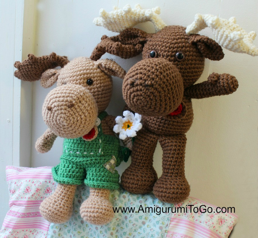 Free Crochet Animal Patterns Beautiful Crochet Moose Free Pattern Amigurumi to Go Of Attractive 49 Pictures Free Crochet Animal Patterns