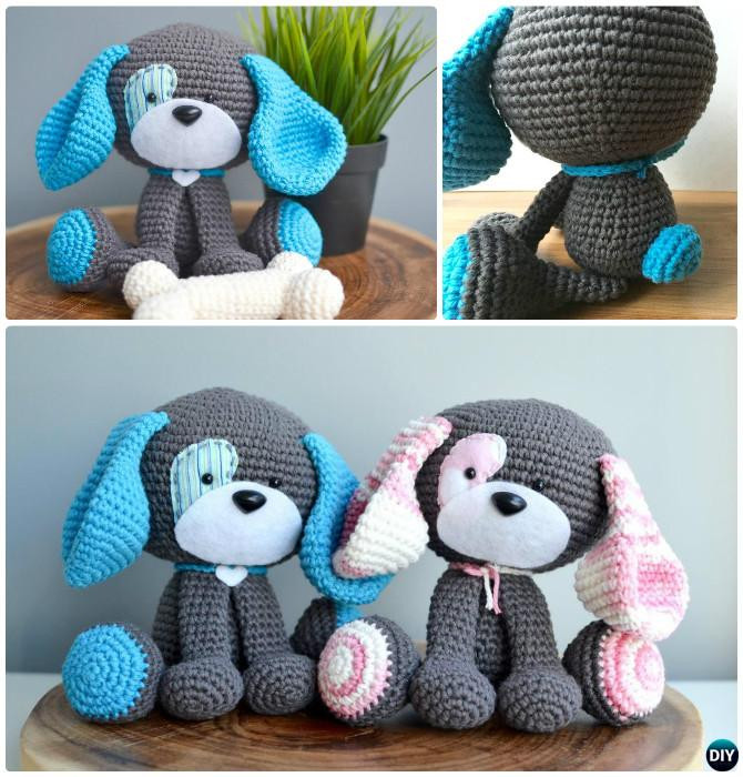 Free Crochet Animal Patterns Beautiful Diy Crochet Amigurumi Puppy Dog Stuffed toy Free Patterns Of Attractive 49 Pictures Free Crochet Animal Patterns