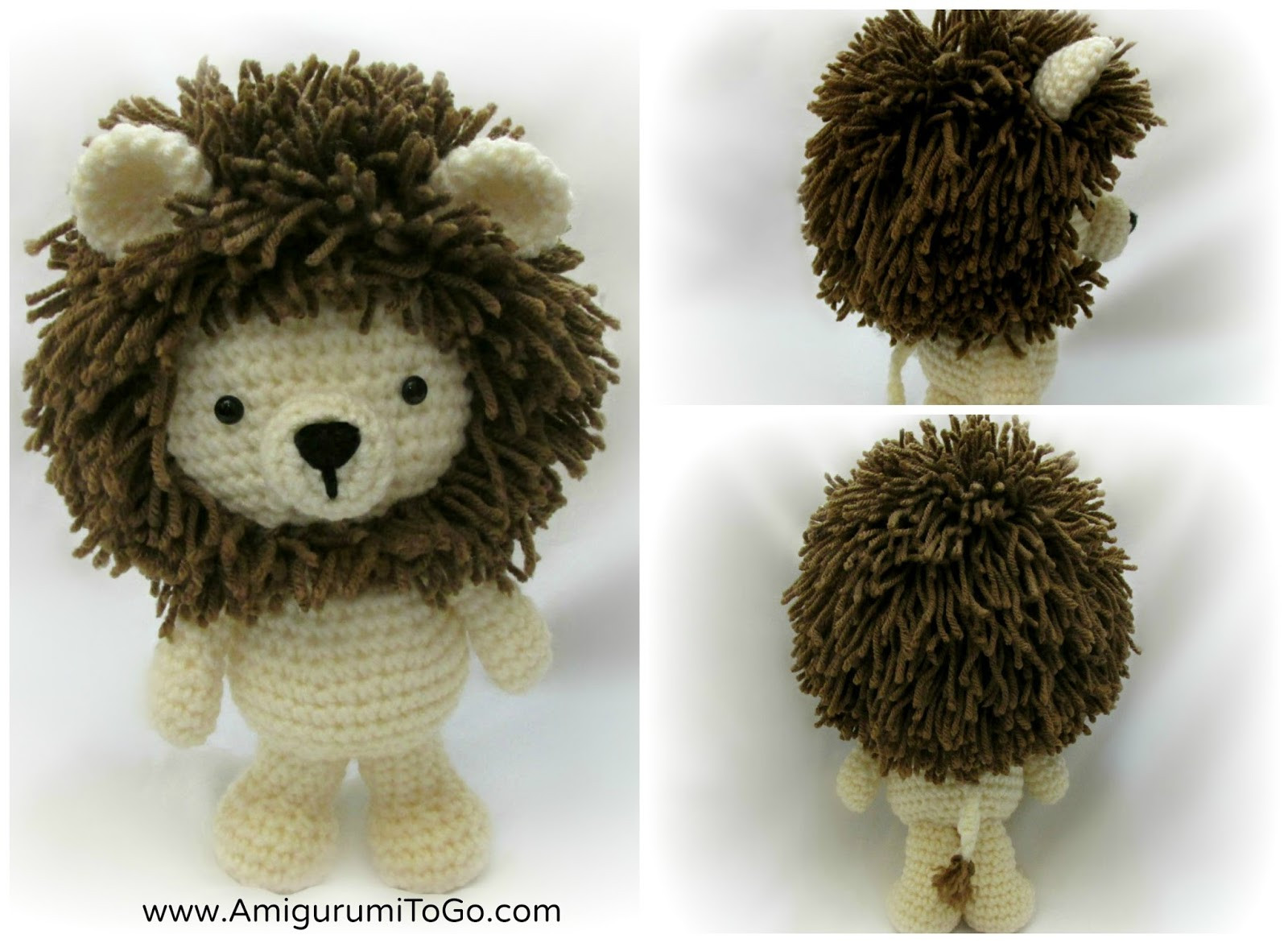 Free Crochet Animal Patterns Beautiful Little Bigfoot Lion 2014 Amigurumi to Go Of Attractive 49 Pictures Free Crochet Animal Patterns