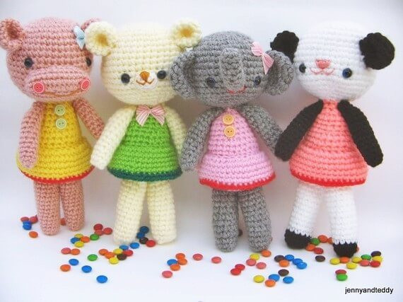 Free Crochet Animal Patterns Best Of Girlgang Amigurumi Free Pattern Of Attractive 49 Pictures Free Crochet Animal Patterns