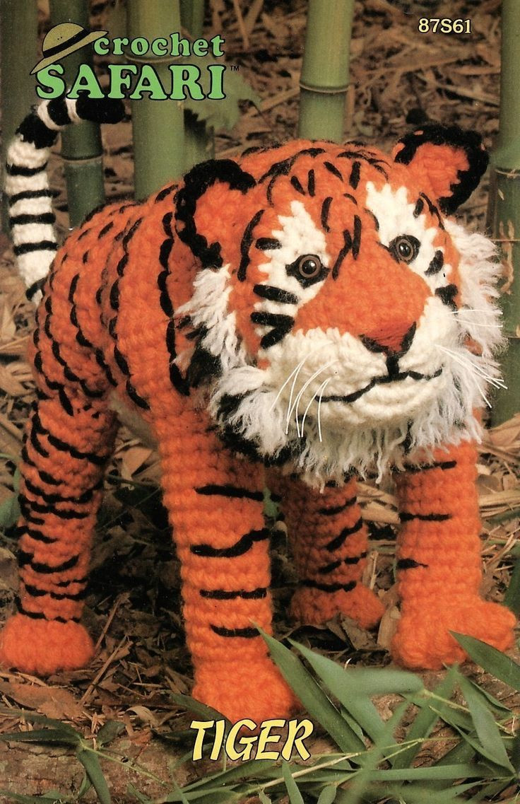 Free Crochet Animal Patterns Lovely Safari Tiger Crochet Pattern Animal Annies attic toy Of Attractive 49 Pictures Free Crochet Animal Patterns