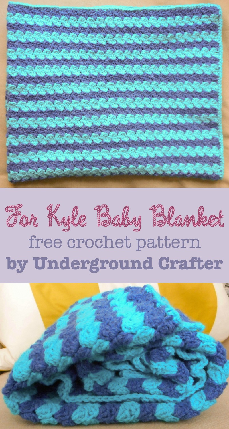Free Crochet Baby Afghan Patterns Beautiful Crochet Pattern for Kyle Baby Blanket Of Superb 46 Photos Free Crochet Baby Afghan Patterns