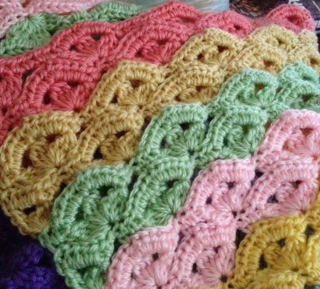 Free Crochet Baby Afghan Patterns Luxury Irish Wave Baby Afghan Crochet Pattern – Allcrafts Free Of Superb 46 Photos Free Crochet Baby Afghan Patterns