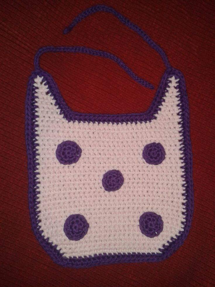 17 best images about Knit & Crochet Baby Bibs on Pinterest