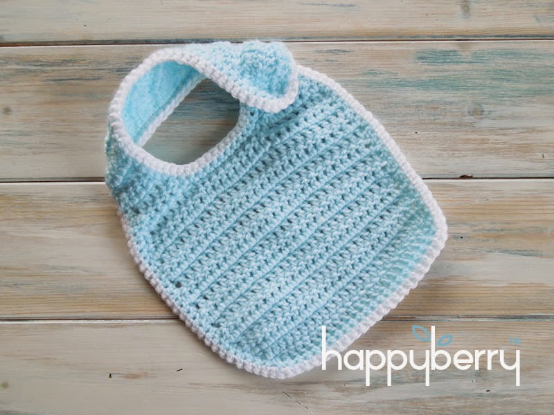 Free Crochet Baby Bib Patterns Awesome Happy Berry Crochet How to Crochet A Newborn Baby Bib Of Adorable 48 Models Free Crochet Baby Bib Patterns