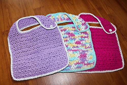 Free Crochet Baby Bib Patterns Fresh 1000 Images About Crochet Baby Bibs On Pinterest Of Adorable 48 Models Free Crochet Baby Bib Patterns
