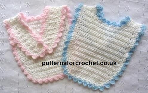 Free Crochet Baby Bib Patterns Lovely 78 Images About Bibs for Baby Crochet On Pinterest Of Adorable 48 Models Free Crochet Baby Bib Patterns