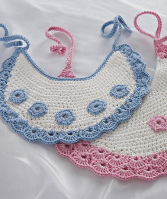 Free Crochet Baby Bib Patterns Unique Free Crochet Pattern Stunning Two Bibs for Child Of Adorable 48 Models Free Crochet Baby Bib Patterns