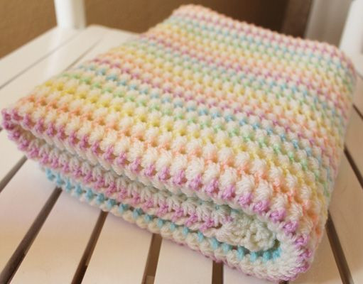 Patterns to knit baby blanket Crochet and Knitting
