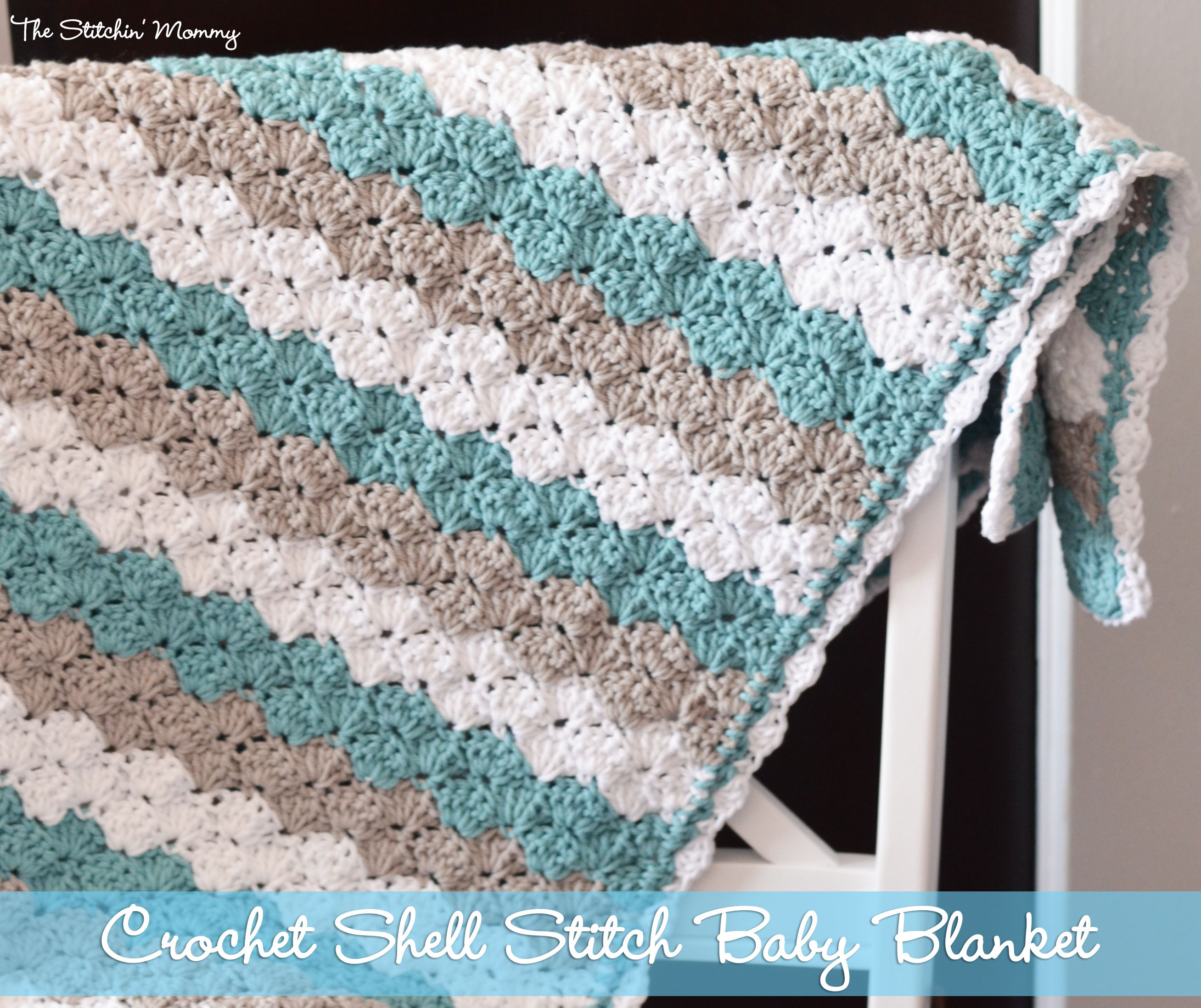 Free Crochet Baby Blankets Fresh Shell Stitch Baby Blanket Free Pattern Of Incredible 43 Ideas Free Crochet Baby Blankets
