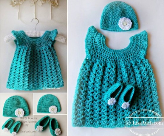 Free Crochet Baby Dress Patterns Beautiful 16 Patterns for Cute Crochet Girls Dresses Of Fresh 40 Pictures Free Crochet Baby Dress Patterns