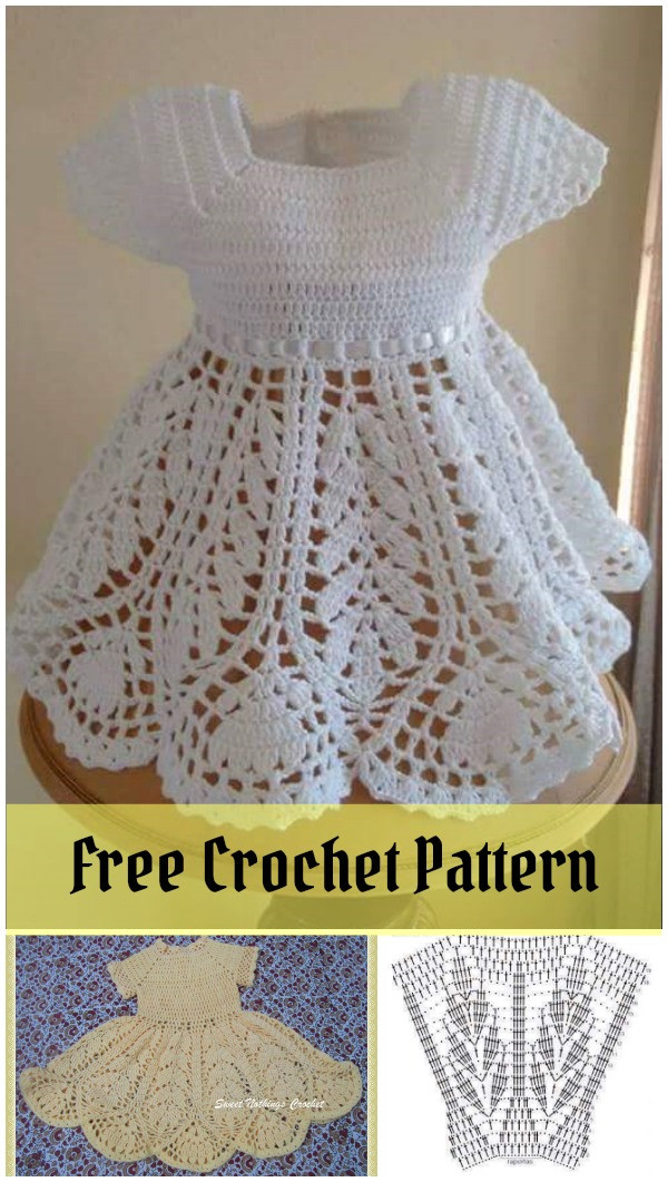 Free Crochet Baby Dress Patterns Best Of Beautiful Lotus Baby Dress Free Crochet Pattern Of Fresh 40 Pictures Free Crochet Baby Dress Patterns
