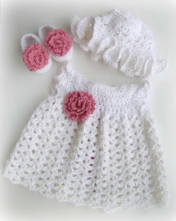 Free Crochet Baby Dress Patterns Luxury Cool Crochet Patterns & Ideas for Babies Hative Of Fresh 40 Pictures Free Crochet Baby Dress Patterns