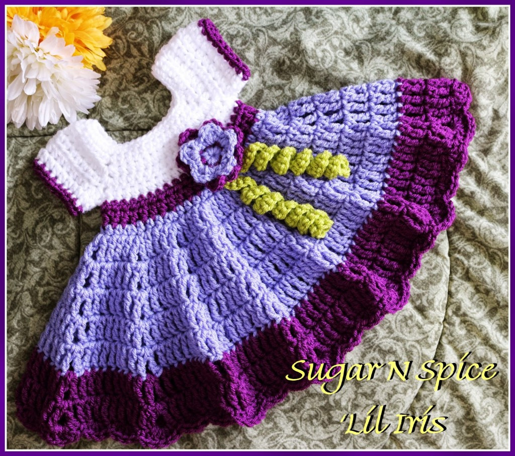 Free Crochet Baby Dress Patterns Luxury Sugar N Spice Baby Dress Free Pattern – Allcrafts Free Of Fresh 40 Pictures Free Crochet Baby Dress Patterns