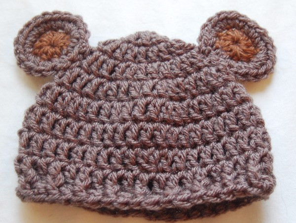 Free Crochet Baby Hat Patterns Inspirational Newborn Bear Hat Crochet Pattern & Crochet Baby Bear Hat Of Adorable 48 Pics Free Crochet Baby Hat Patterns