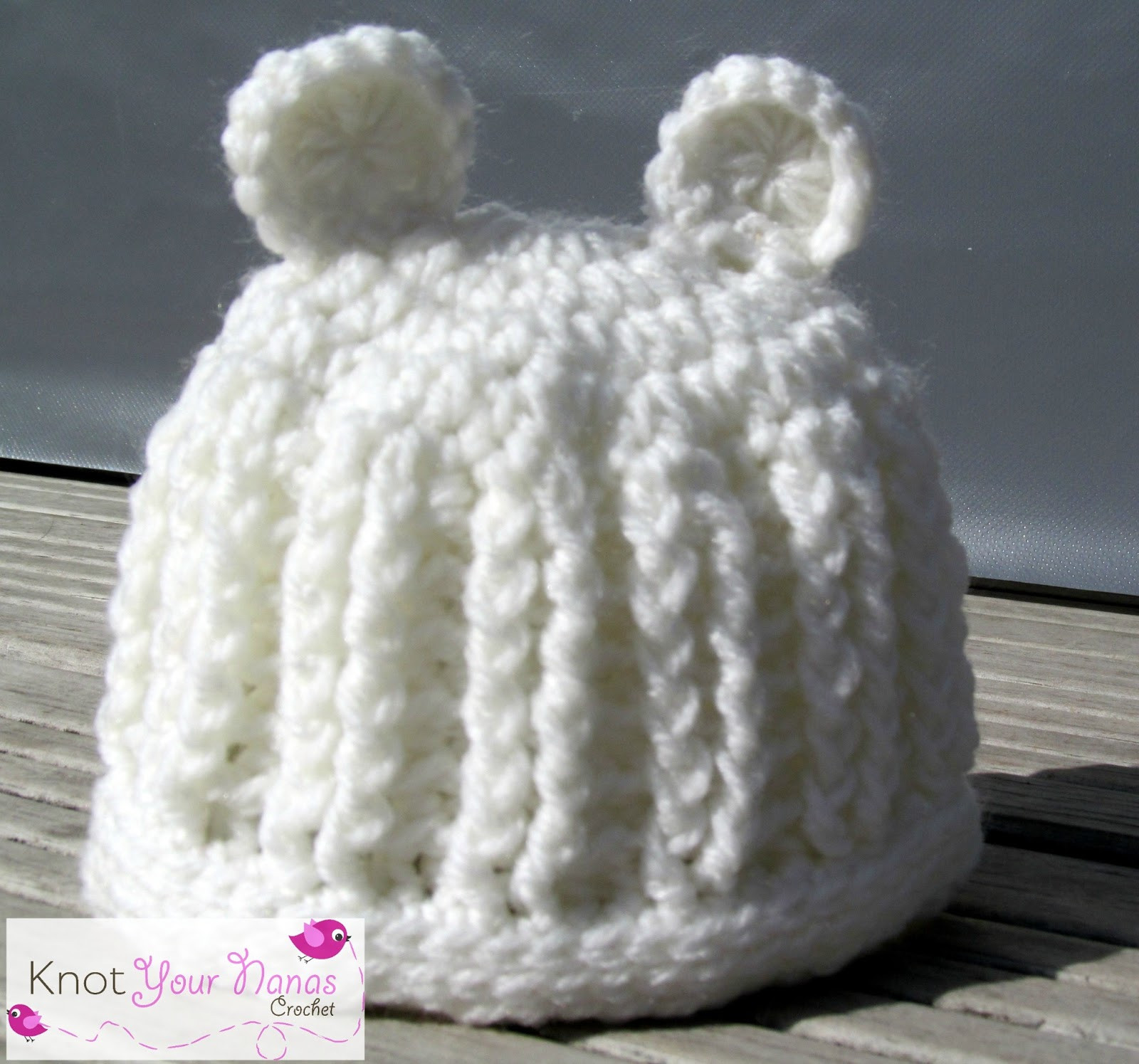 Free Crochet Baby Hat Patterns Lovely Knot Your Nana S Crochet Baby Hat Of Adorable 48 Pics Free Crochet Baby Hat Patterns
