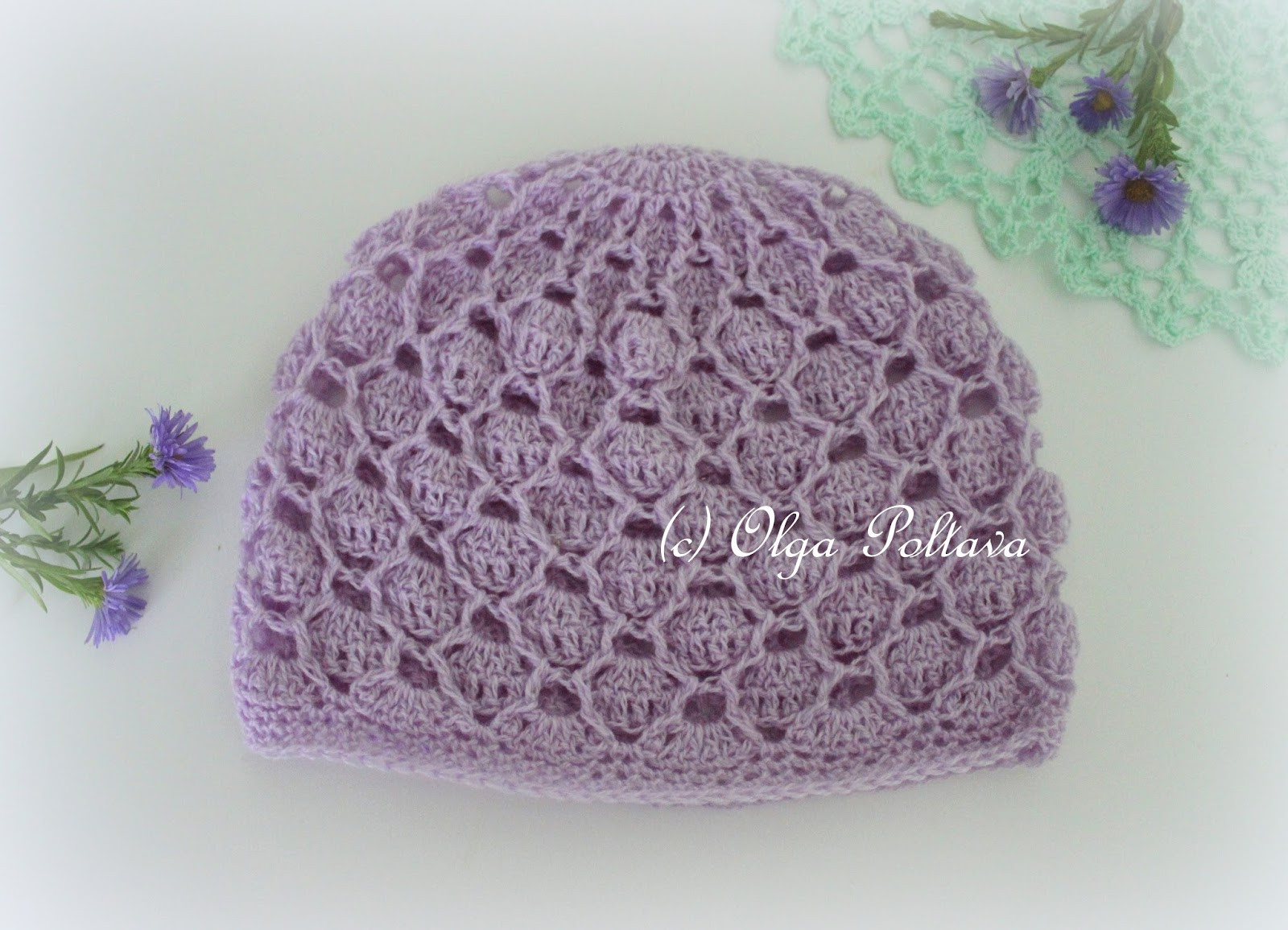 Free Crochet Baby Hats Awesome Lacy Crochet Delicate Lace Crochet Baby Hat Free Pattern Of Attractive 48 Photos Free Crochet Baby Hats