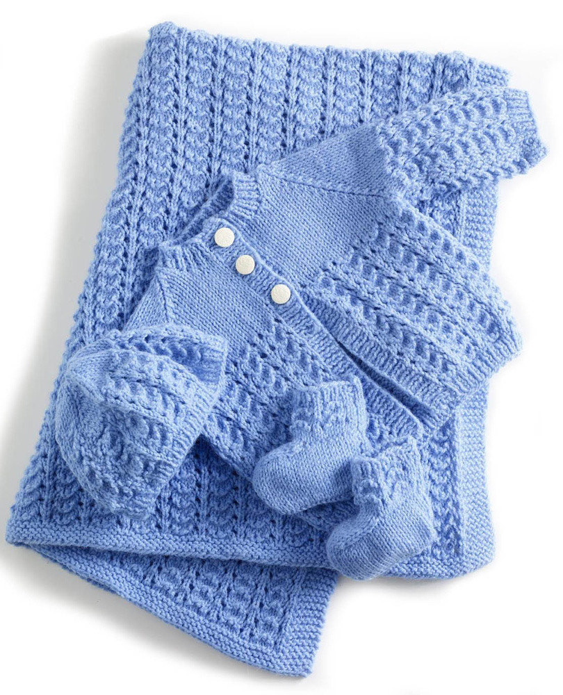 Knit this Adorable Baby Layette The Spinners Husband