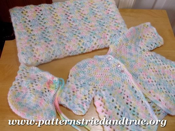 Free Crochet Baby Layette Patterns Inspirational Items Similar to Crochet Baby Layette Hat Sweater Of Great 50 Pictures Free Crochet Baby Layette Patterns