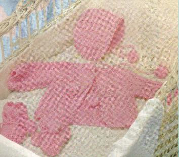 CROCHET BABY LAYETTE PATTERNS – Crochet Patterns