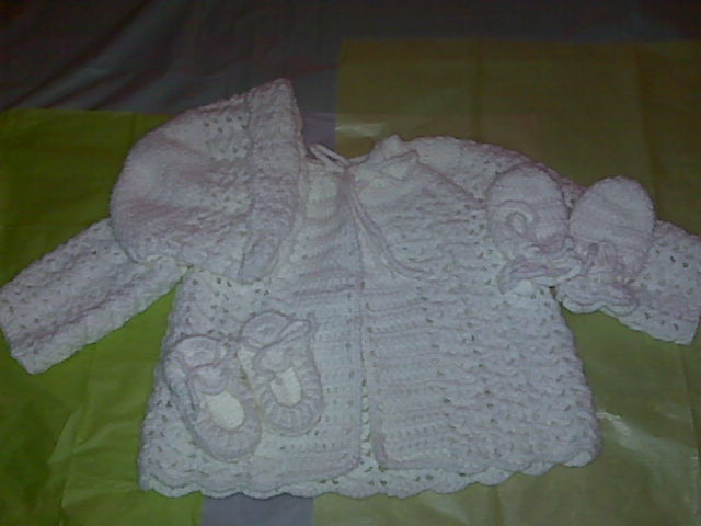 Free Crochet Baby Layette Patterns New Baby Crochet Layette Set Makeit4me Of Great 50 Pictures Free Crochet Baby Layette Patterns