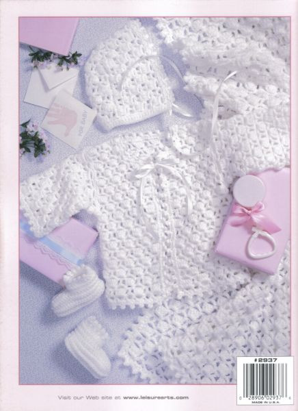 Free Crochet Baby Layette Patterns New Lacy Layettes Baby Crochet Pattern Book Of Great 50 Pictures Free Crochet Baby Layette Patterns