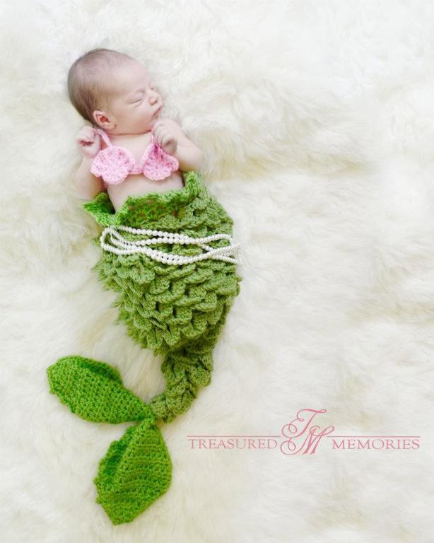 Free Crochet Baby Mermaid Tail Pattern Inspirational Crochet Mermaid Tail Blankets & Props for Kids & Adults Of Beautiful 42 Photos Free Crochet Baby Mermaid Tail Pattern