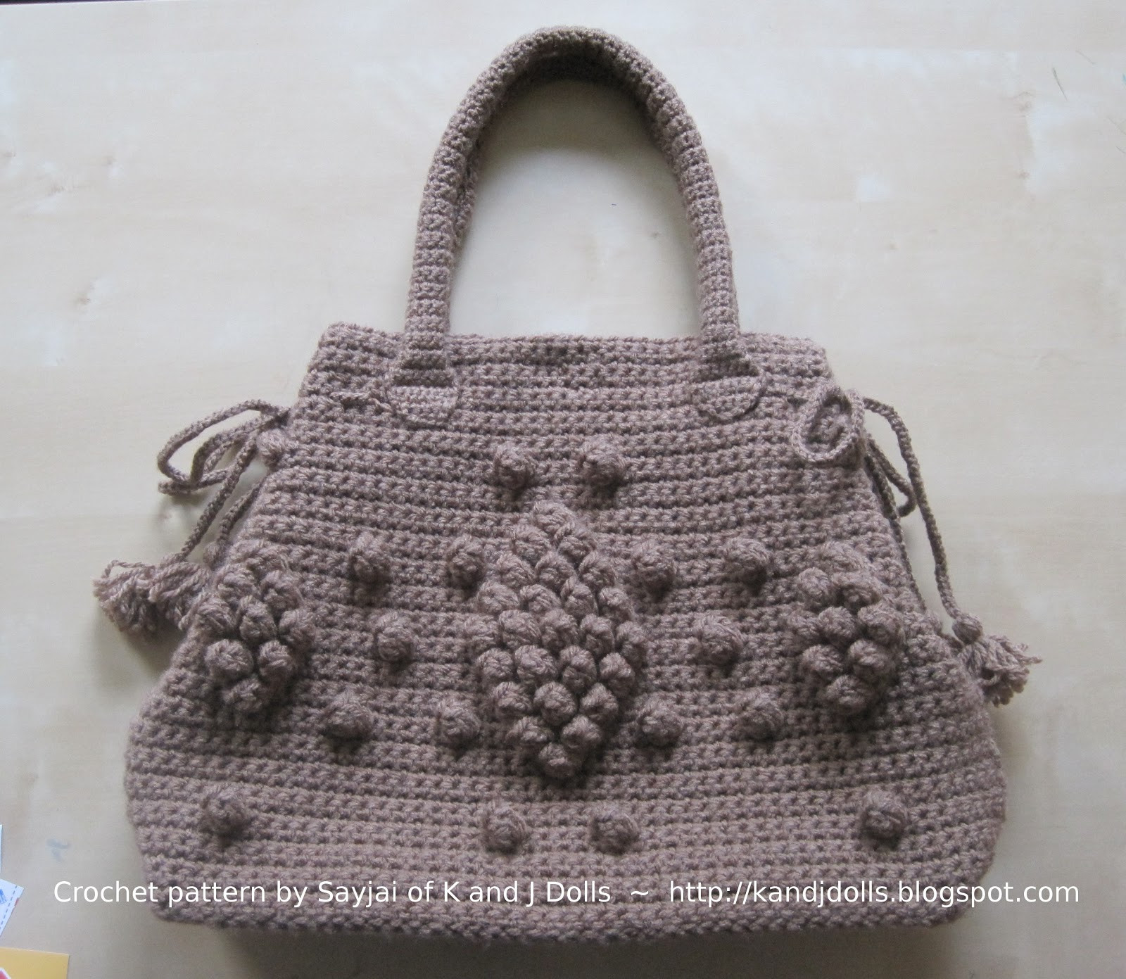 Free Crochet Bag Patterns Beautiful Taupe Bag Crochet Pattern Sayjai Amigurumi Crochet Of Awesome 45 Ideas Free Crochet Bag Patterns