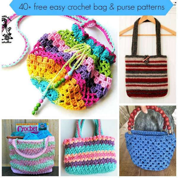 Free Crochet Bag Patterns Inspirational 40 Free Easy Crochet Bag & Purse Patterns Of Awesome 45 Ideas Free Crochet Bag Patterns