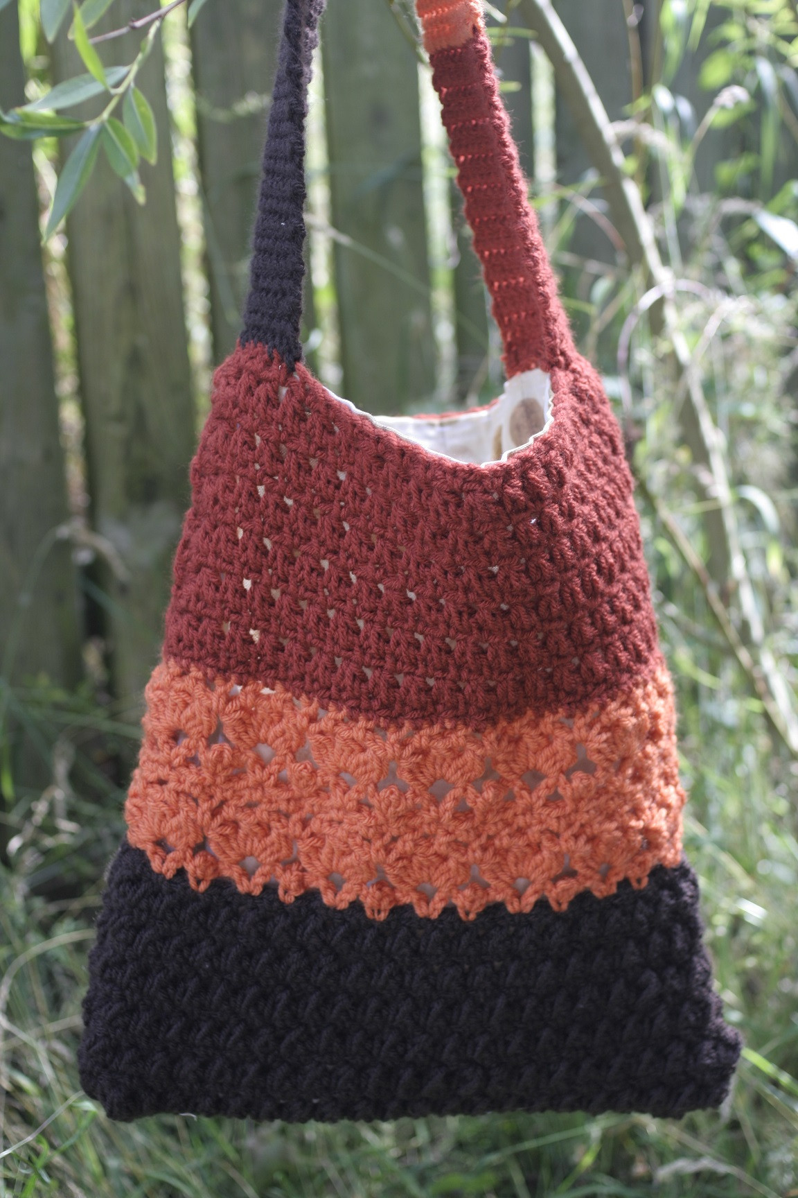 Free Crochet Bag Patterns New Lace Shoulder Bag – Free Pattern – Catkin and Et Of Awesome 45 Ideas Free Crochet Bag Patterns