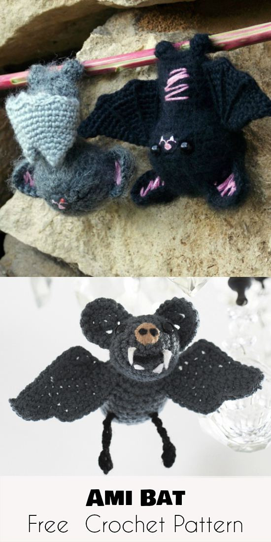 Free Crochet Bat Pattern Awesome Halloween Amigurumi Bat – Free Crochet Pattern Of Gorgeous 42 Pics Free Crochet Bat Pattern