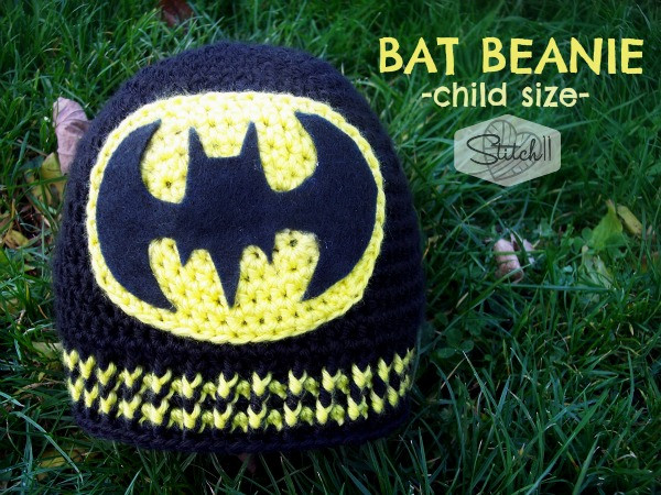 Free Crochet Bat Pattern Beautiful Child Size Batman Beanie Stitch11 Of Gorgeous 42 Pics Free Crochet Bat Pattern