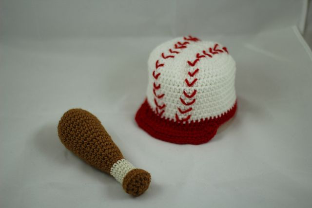 Free Crochet Bat Pattern Lovely Ravelry Baseball Bat Rattle Pattern by Laura Montoya Of Gorgeous 42 Pics Free Crochet Bat Pattern