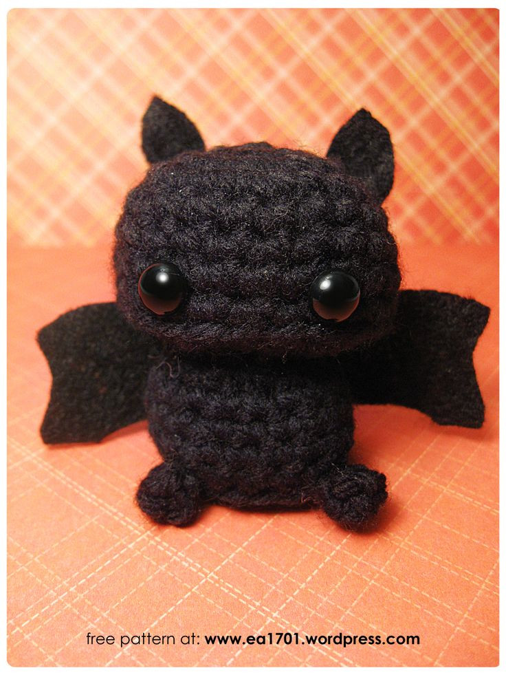 Free Crochet Bat Pattern Unique 110 Best Zombie & Vampire & Bat Images On Pinterest Of Gorgeous 42 Pics Free Crochet Bat Pattern