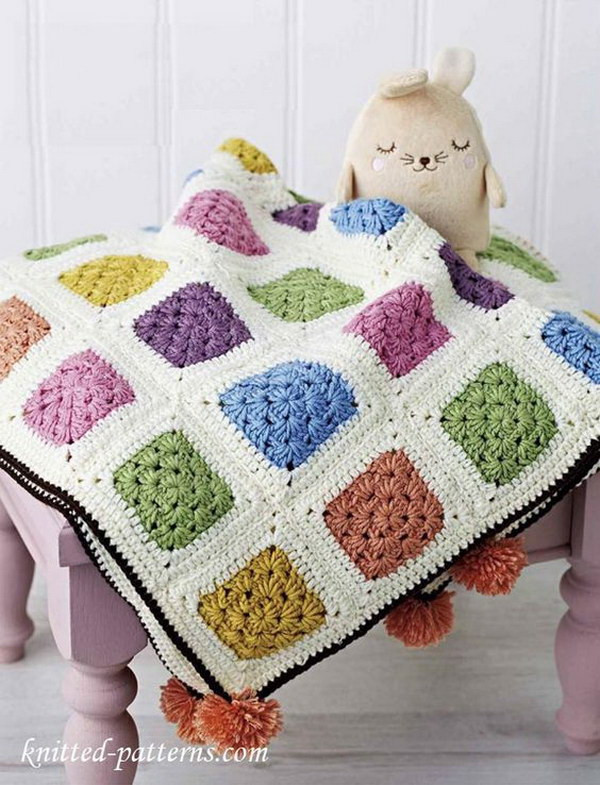 Free Crochet Blanket Patterns for Beginners New 20 Awesome Crochet Blankets with Tutorials and Patterns Of Great 50 Pics Free Crochet Blanket Patterns for Beginners