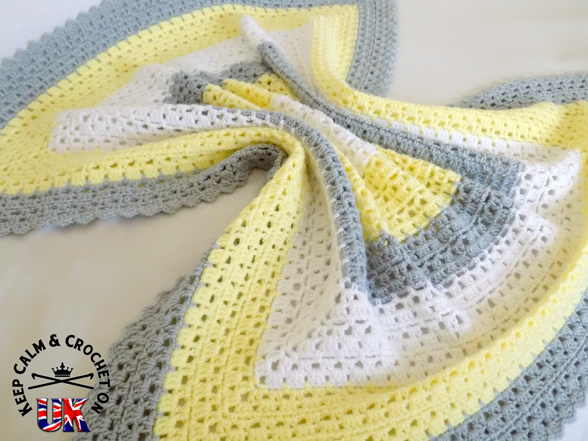 Free Pattern Superbly Simple Baby Blanket
