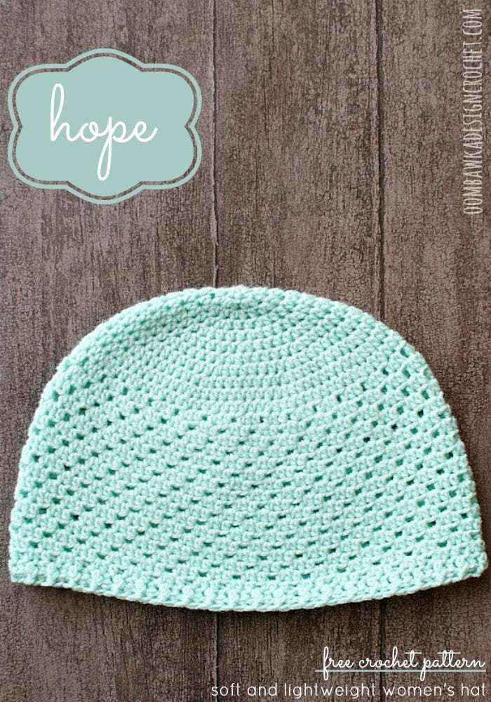 Free Crochet Chemo Hat Patterns Fresh Hope Womens Hat • Oombawka Design Crochet Of Awesome 43 Ideas Free Crochet Chemo Hat Patterns