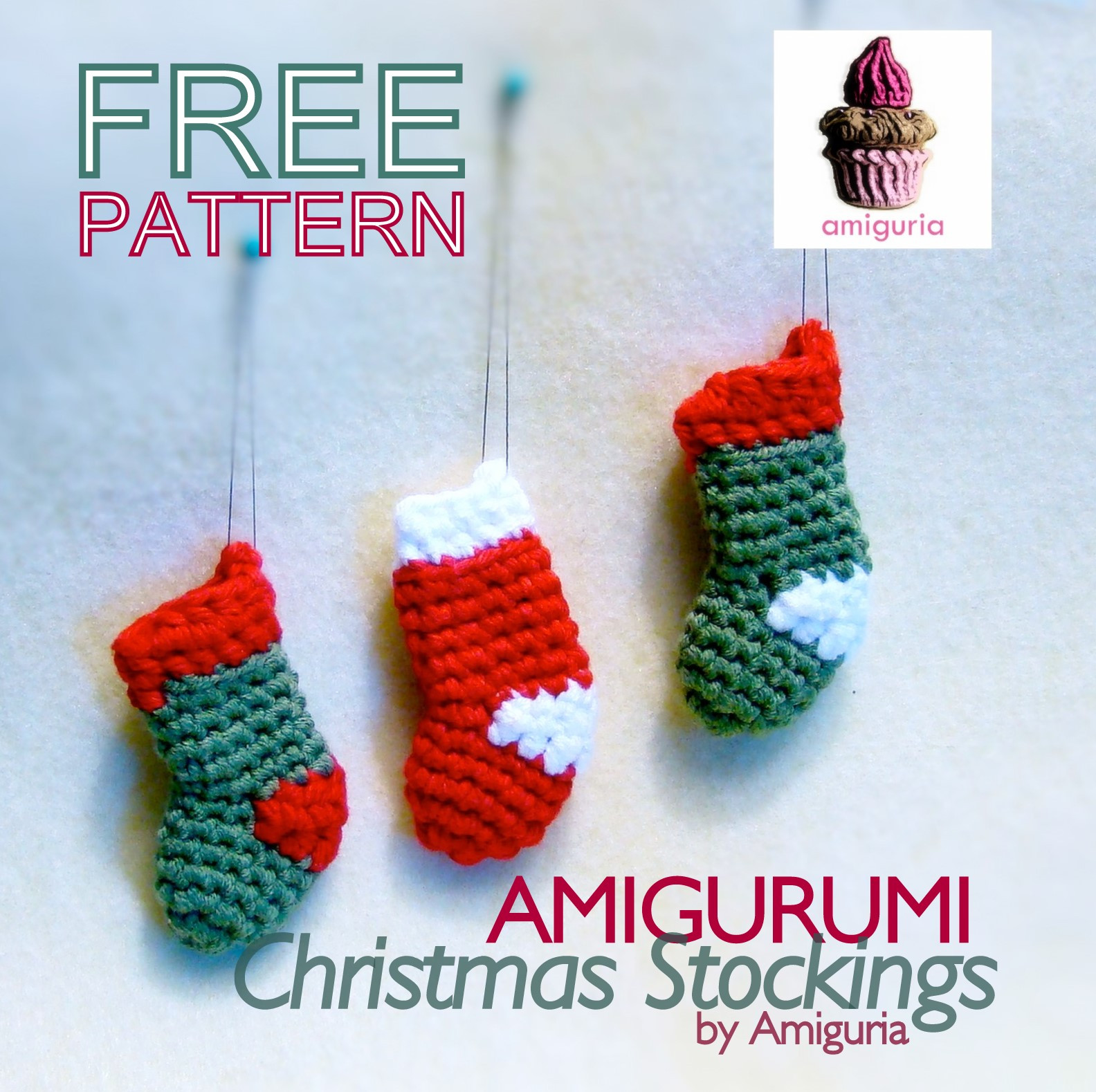 Free Crochet Christmas Stocking Patterns Awesome Amiguria Amigurumi Free Pattern Christmas Stocking Of Top 44 Photos Free Crochet Christmas Stocking Patterns