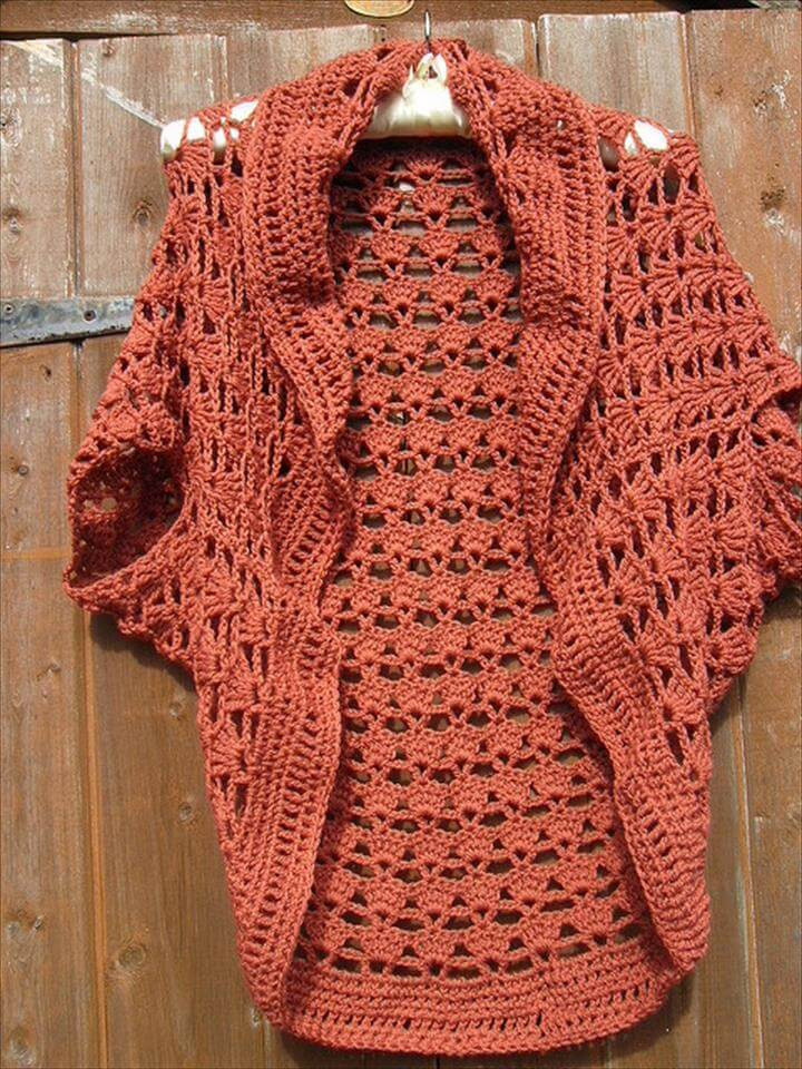 20 Simple Crochet Shrug Design