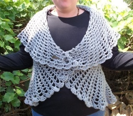 Free Crochet Circle Vest or Shrug Pattern Beautiful Crochet Shawl Pattern Plus Size Dancox for Of Gorgeous 42 Pictures Free Crochet Circle Vest or Shrug Pattern