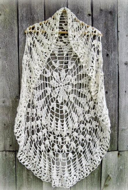 Free Crochet Circle Vest or Shrug Pattern Elegant Crochet Circle Vest On Pinterest Of Gorgeous 42 Pictures Free Crochet Circle Vest or Shrug Pattern